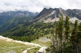 Jumbo Pass hike
